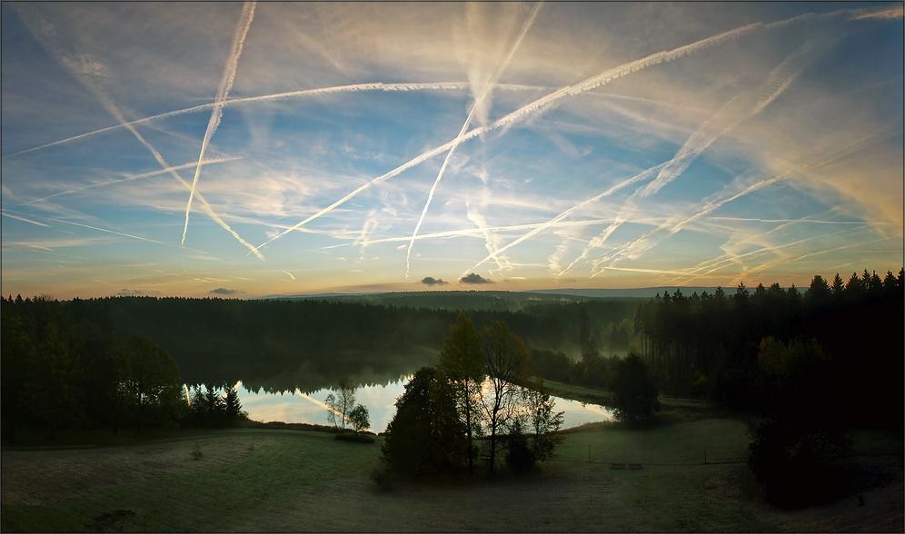 * Cloud painting *