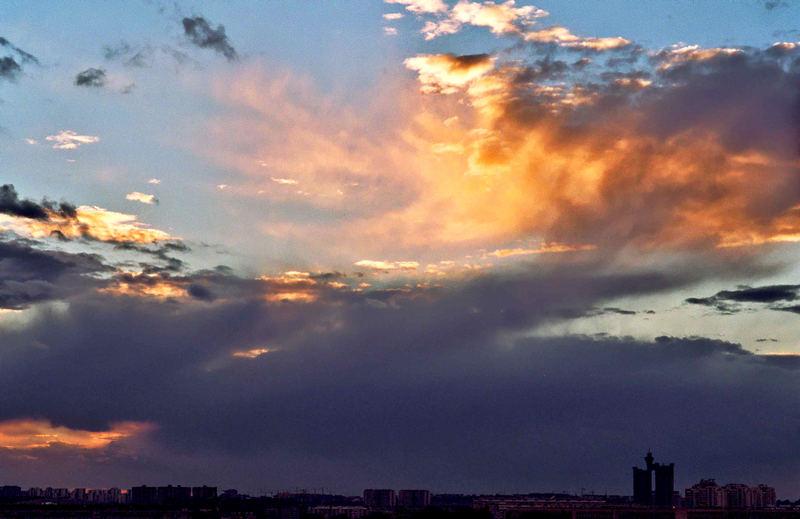 Clouds ....Beograd
