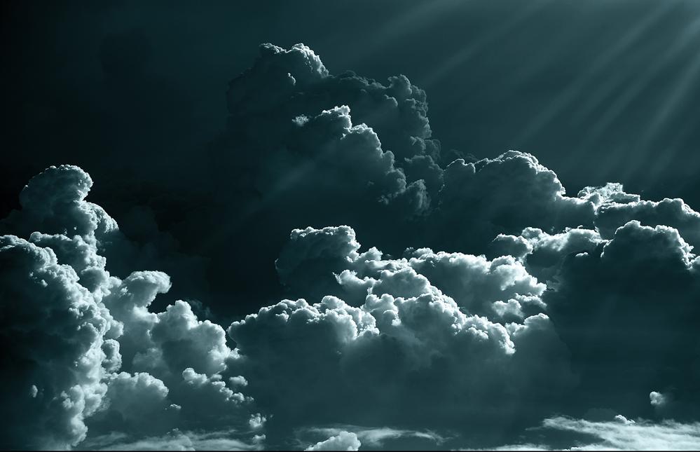 Clouds everywhere...