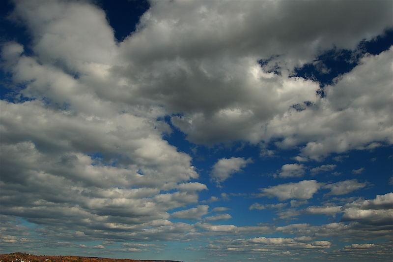 Clouds in Québec