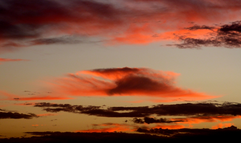 ...clouds of fuerte...