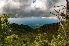 Clouds over Parque Nacional de Gran Piedra