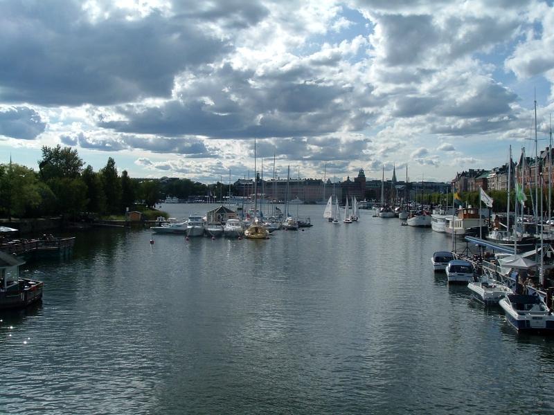 Clouds over Stockholm