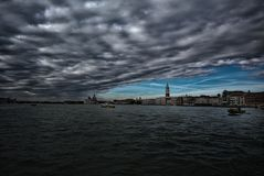 clouds over venice