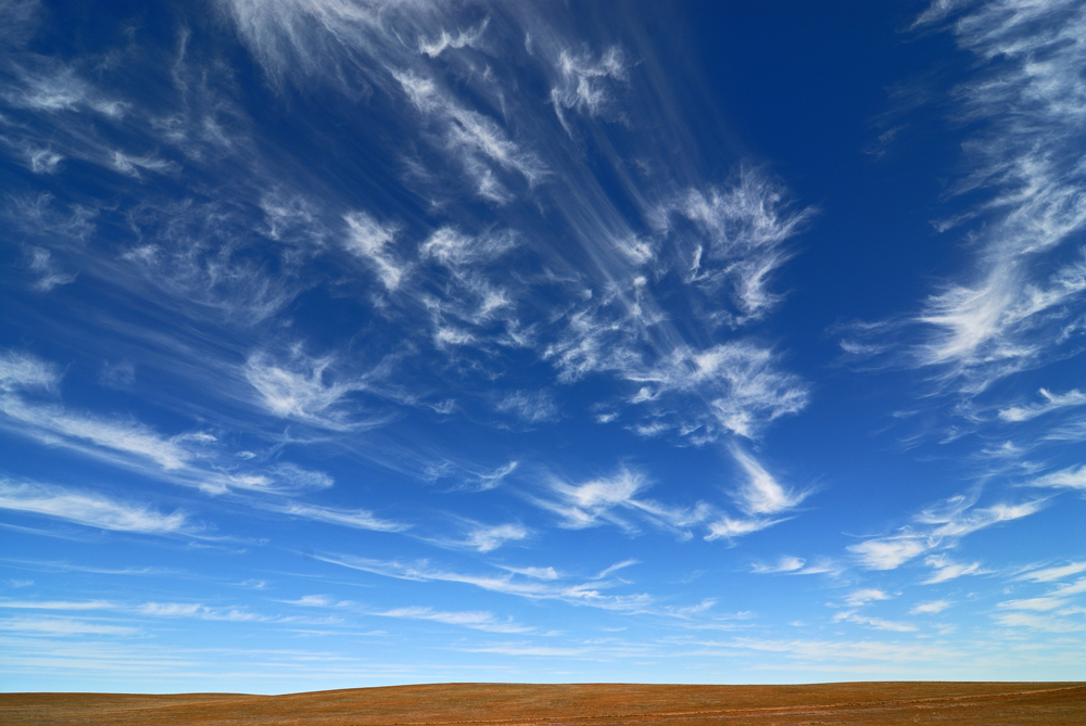 Cloudscape at Bayandelger Mongolia