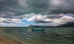 Cloudy Mauritius