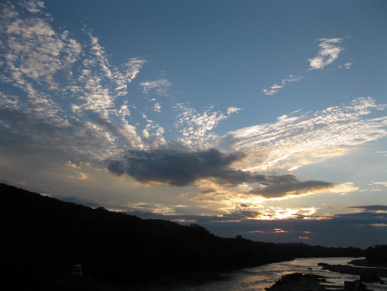 cloudy sunset  20:00
