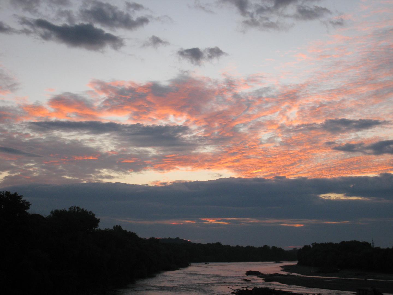 cloudy sunset  20:30