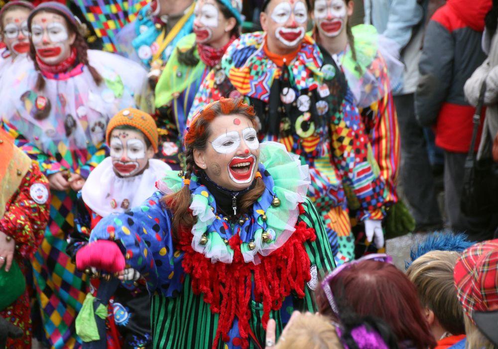 Clownin lacht Street inSTN  in WdS 15