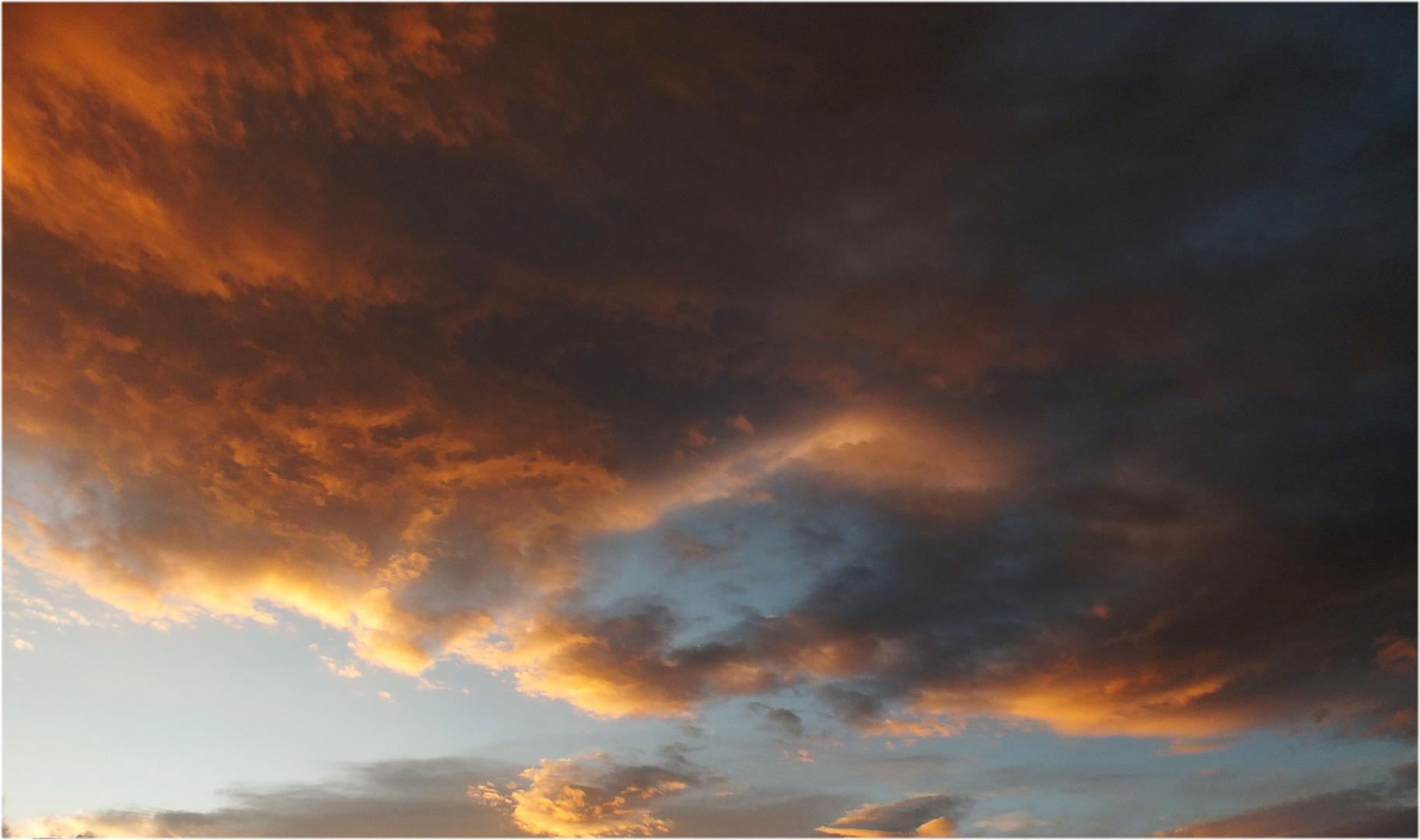 Cluj Napoca sky.