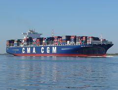 CMA CGM Andromeda - Containerschiff   -  neu!
