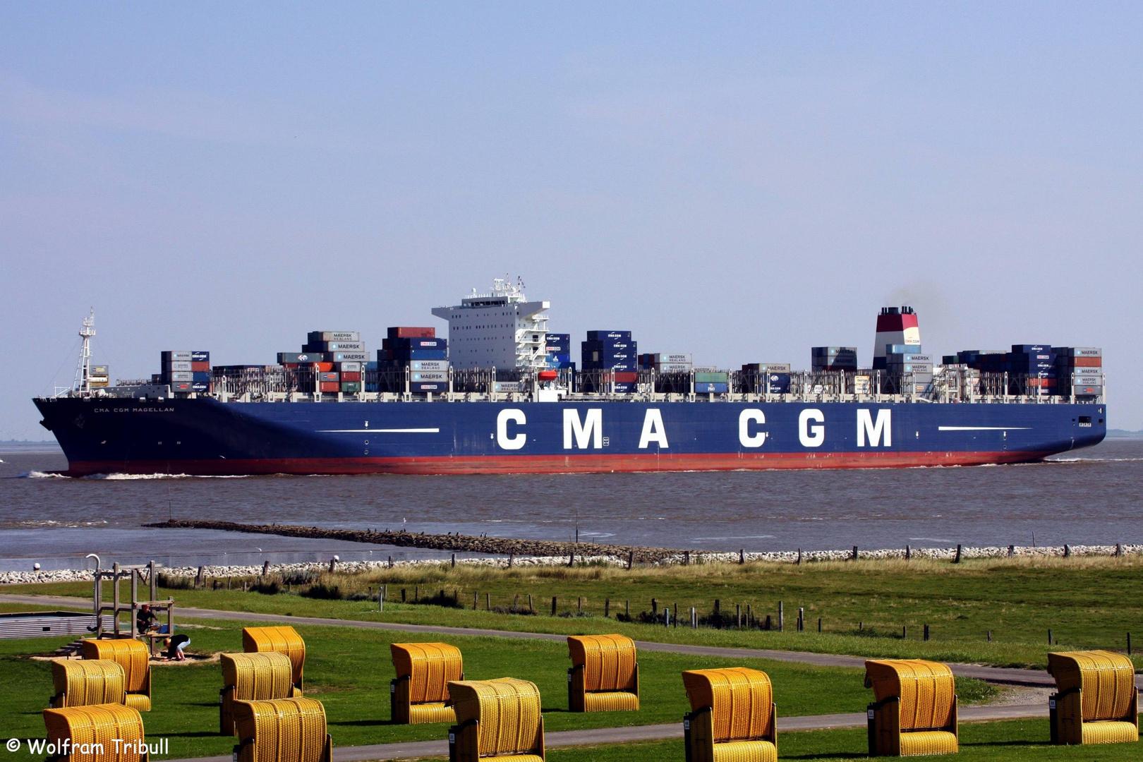 CMA CGM Magellan (IMO 9454424)