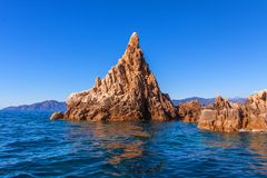 Coast of Corsica