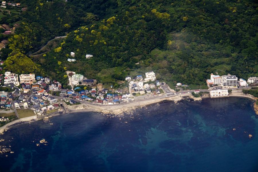 Coastline in Miura peninsula