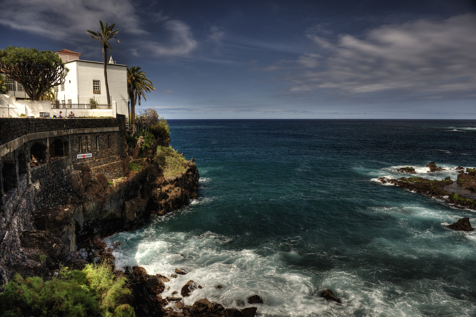 Coastline Puerto de la Cruz...........