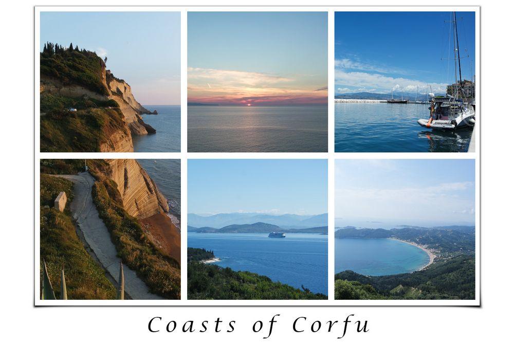 Coasts of Corfu