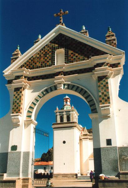 Cobacabana- Wallfahrtsort am Titicacasee