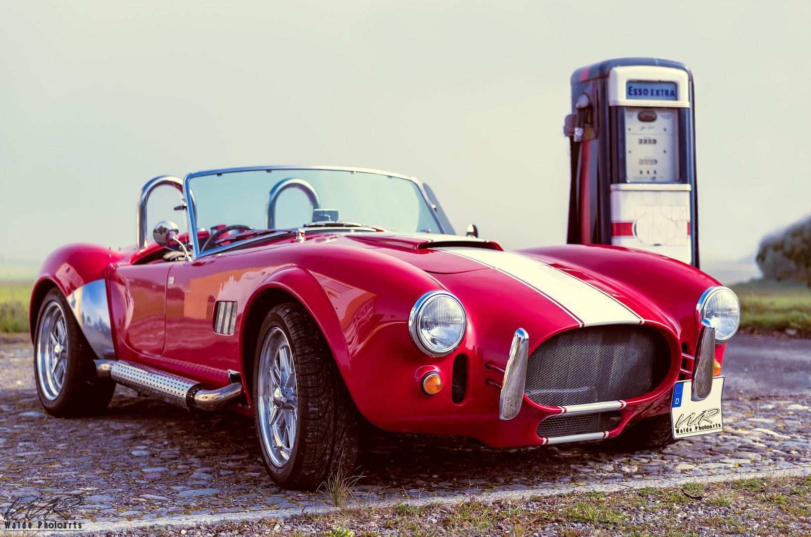Cobra V8 Foto Bild Street Oldtimer Auto Bilder Auf Fotocommunity