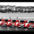 Coca Cola auf dem See