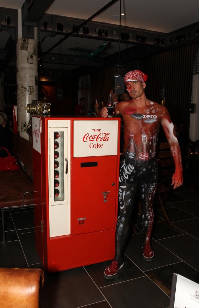 Coca-Cola Bodypainting