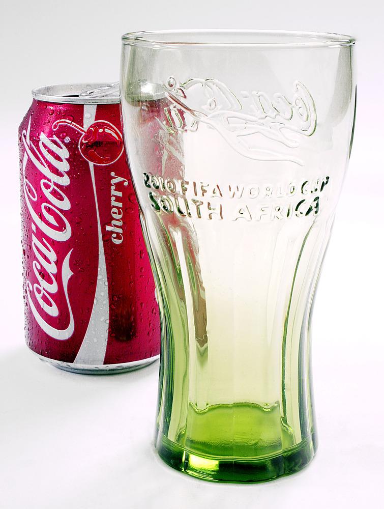 Coca Cola & McDonalds glass