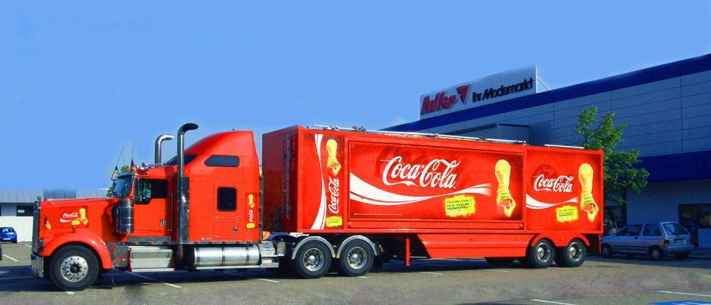 Coca Cola Truck 01