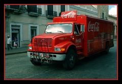Coca Cola Truck old