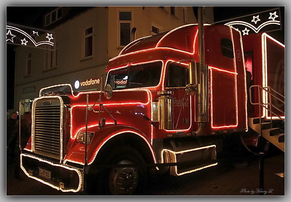 Coca Cola Weihnachtstruck-Stadthagen 2014