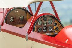 Cockpit der Racek PB-6