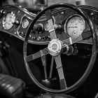 Cockpit eines MG (Morris Garage) TC