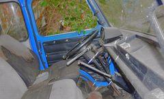 Cockpit eines Wracks