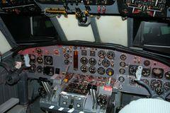 Cockpit U-Boot Aufklärungsflugzeug Breguet Atlantic