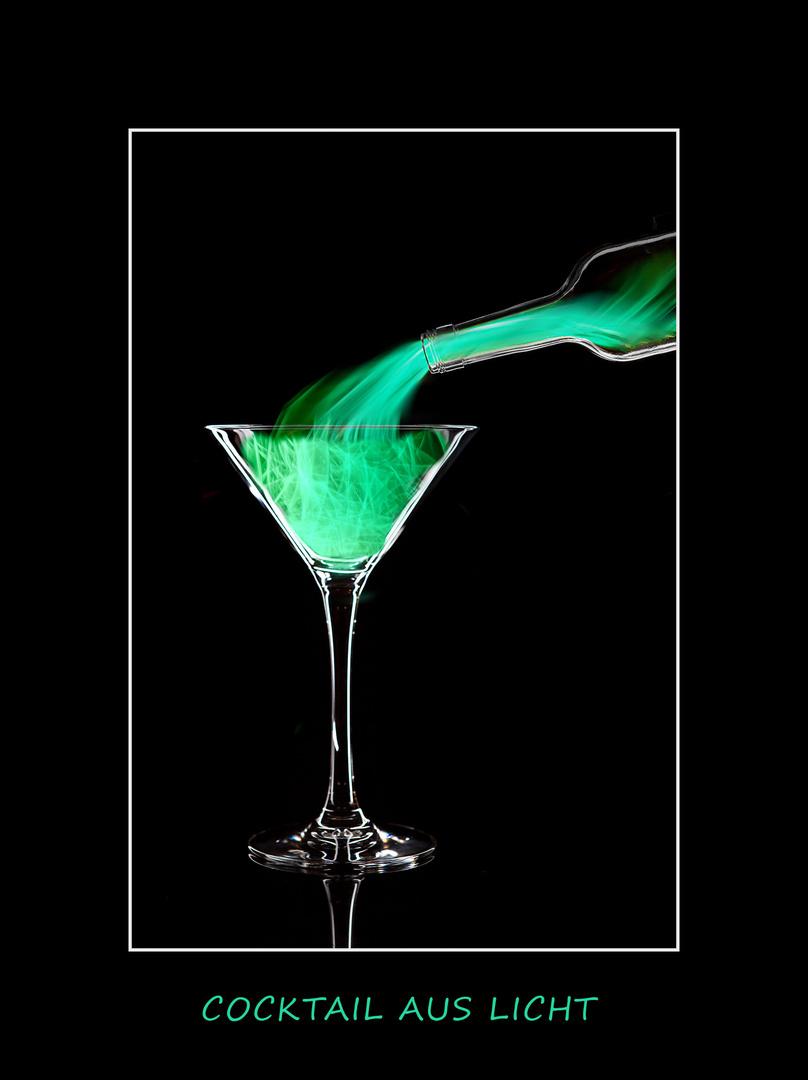 Cocktail aus Licht