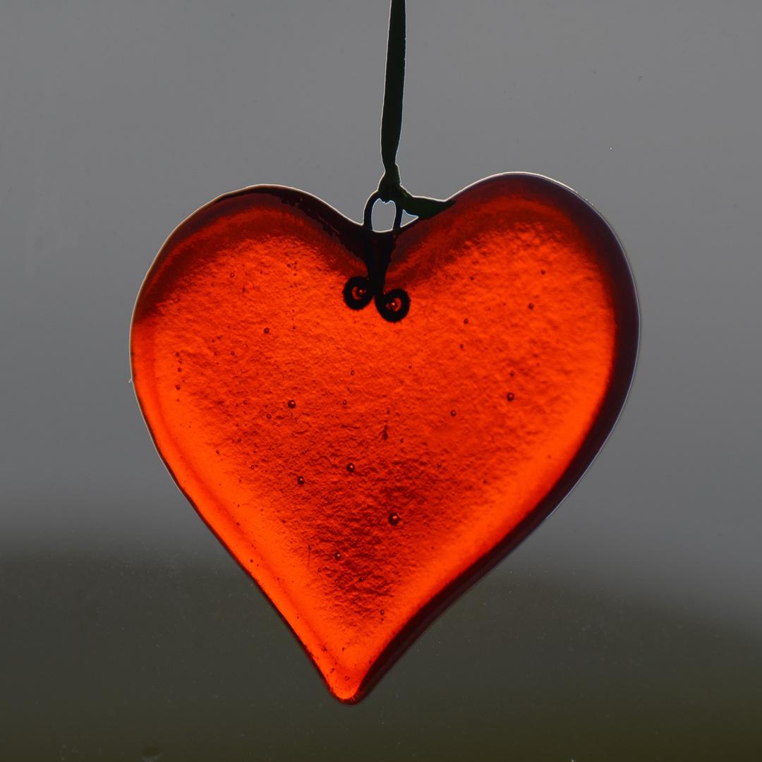 coeur à la fenêtre