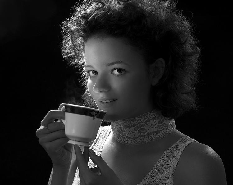 Coffee a break in the lock of light