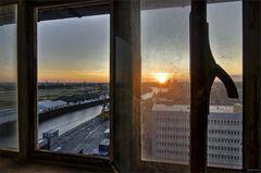 coffee tower window