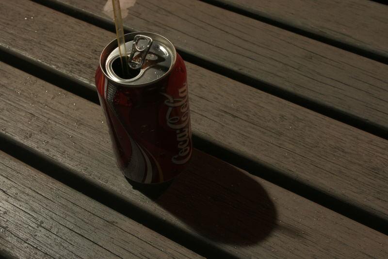 Coke at night...