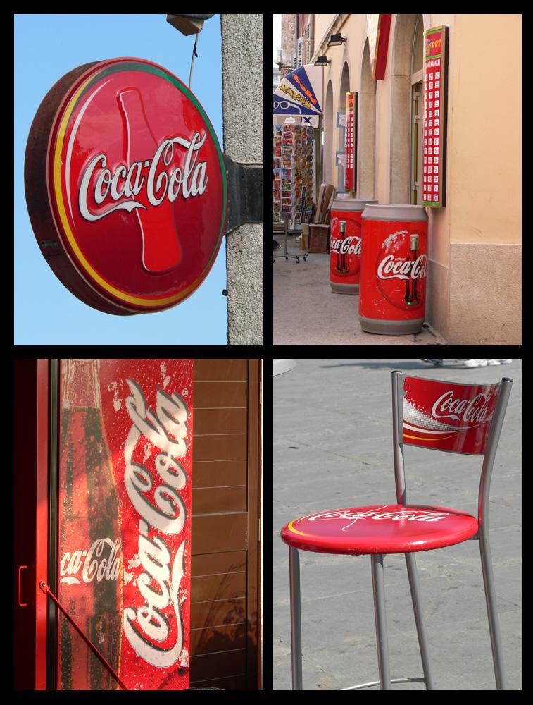 Coke ist wirklich überall