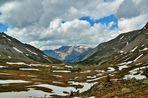 col de la cayolle versant Alpes de Haut Provence vers Barcelonette