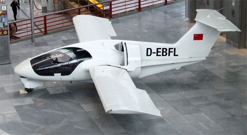 Colani Flugzeug