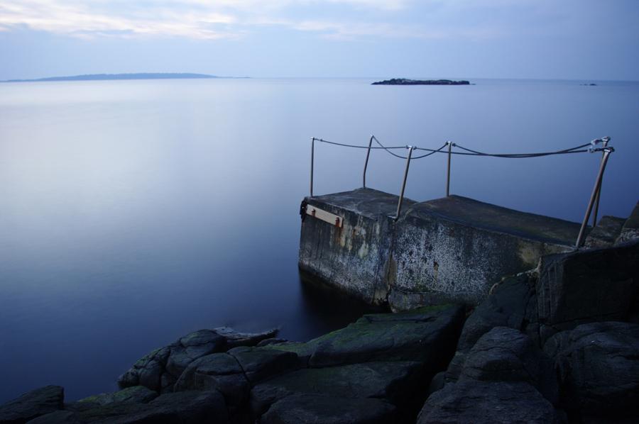 cold North sea