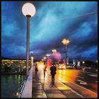 Cold rainy September evening