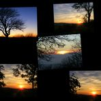 Collag - Sonnenuntergänge 2