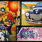 Collage Aerosol Art