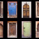 Collage - Die Türen Marokkos