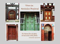 Collage Haustüren