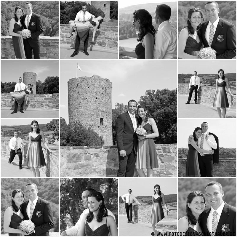 Collage Hochzeit Kerstin Kai Foto Bild Hochzeit Collagen