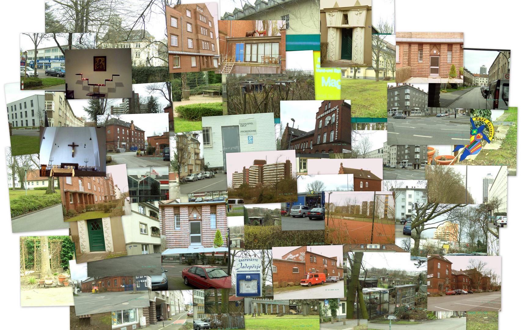 collage k ln riehl foto bild fotokunst collagen aus mind 9 bildern collagen bilder auf. Black Bedroom Furniture Sets. Home Design Ideas