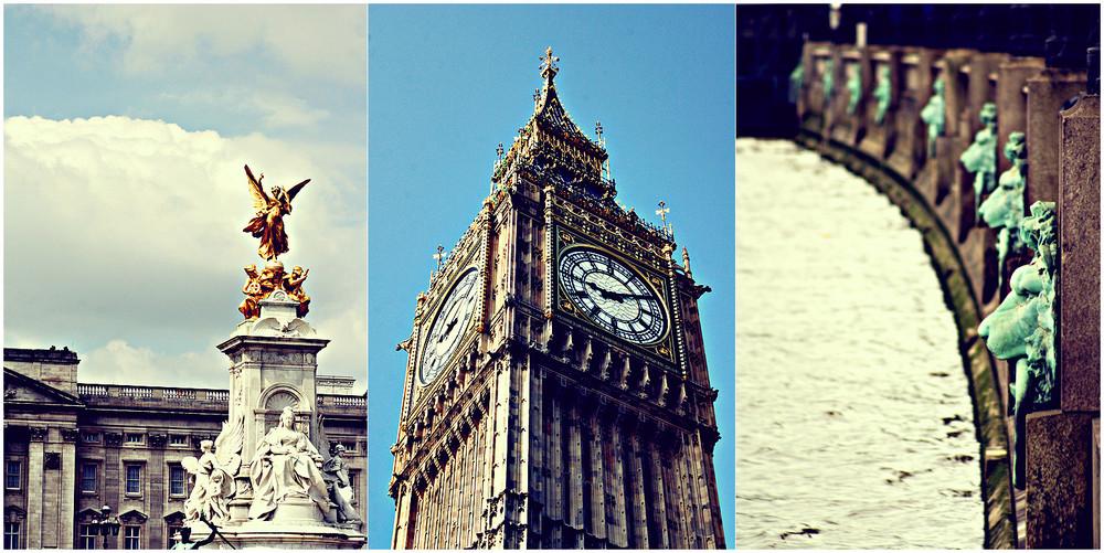 Collage - London Impressionen