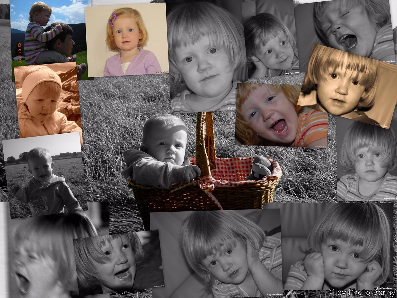 Collage meiner Nichte